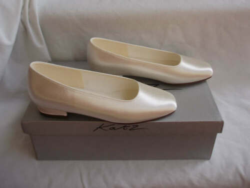 Girls Childrens off white ivory bridesmaid Flower Girl shoes All Sizes Lucia