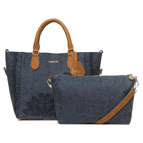 Desigual Shopper Handtasche Schultertasche Bag Bols Aquiles Florida 18WAXPC4