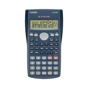 Casio FX-82MS Zweizeiliger Wissenschaftlicher Taschenrechner Schulrechner