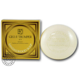 Details about Geo F Trumper Sandalwood Bath and Body Soap 150g - All  Natural Ingredients