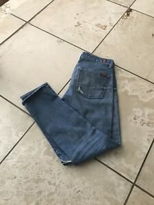 Darling For skinny boutons coupe Jeans 7 avec skinny All d en q7nYrT5Hq
