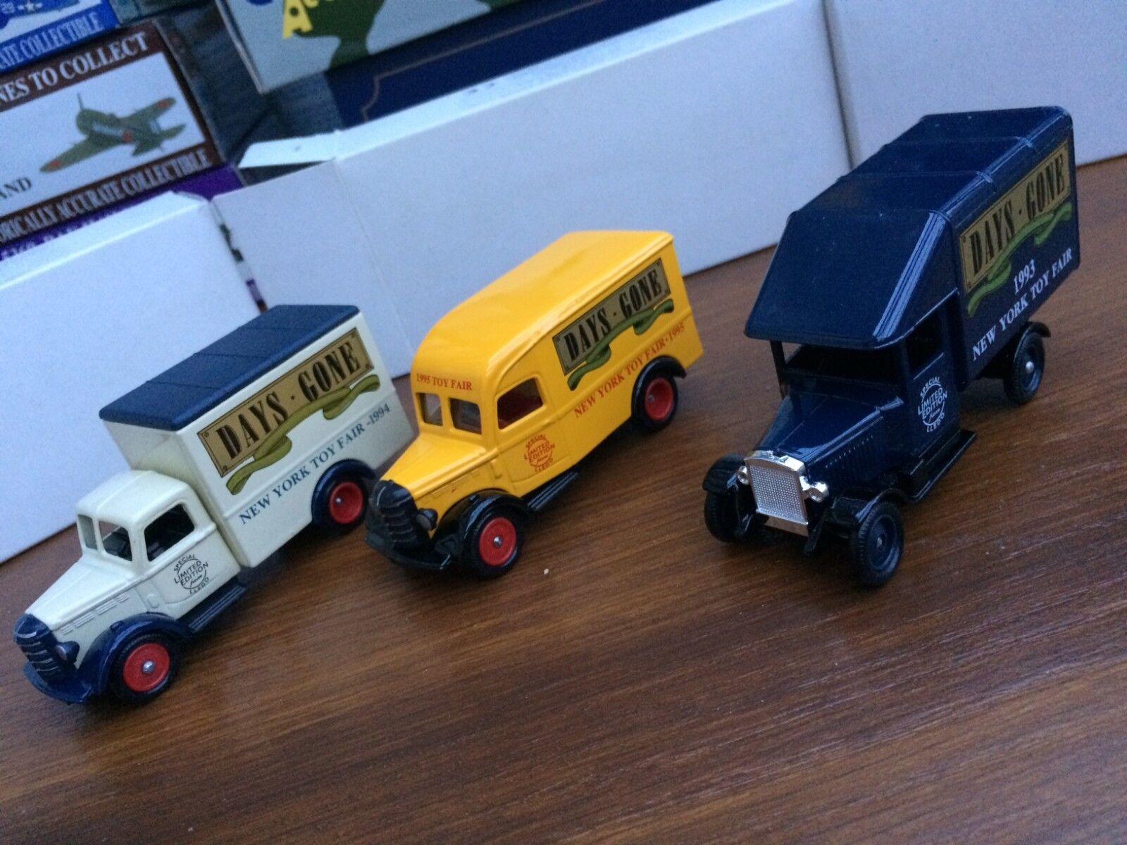 servicio de primera clase Lledo DG52008a DG59010a DG63010a Nueva Nueva Nueva York Juguete Fair Morris & modelos de camiones Bedford  marcas en línea venta barata
