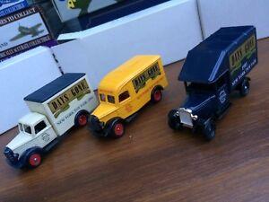 Lledo Dg52008a Dg59010a Dg63010a Salon du jouet à New York Modèles de camions Morris & Bedford