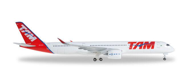 Herpa 529143  TAM TAM TAM Airlines Airbus A350 XWB    1 500 e8704e