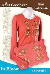 Fashionably Folded Anita Goodesign Embroidery Machine Design CD NEW