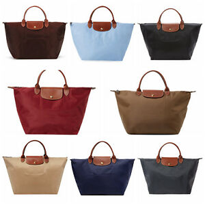 d2ec6a4e58a Brand New Longchamp Le Pliage Medium Short Handle Type M Nylon Tote ...