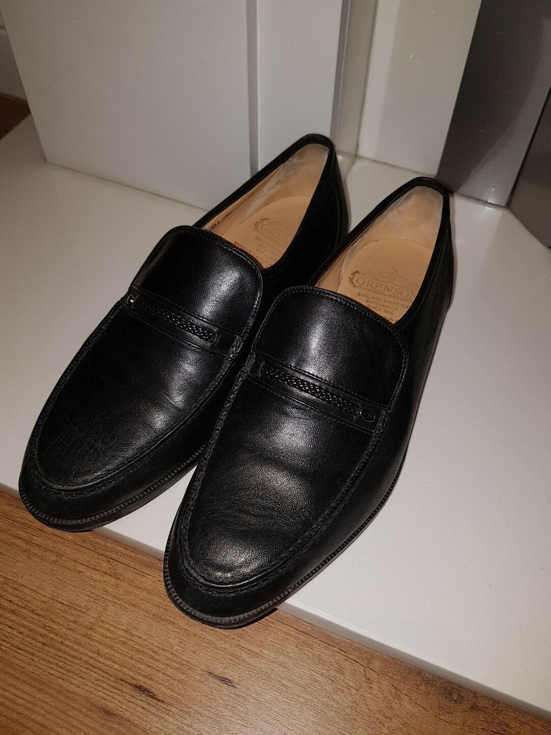 GRENSON MENS LOAFERS SIZE 7.5
