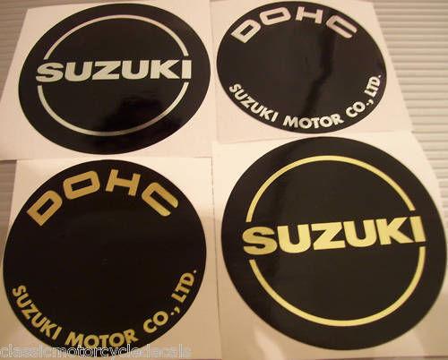 Suzuki GS1000 GS1000S Cubierta del Motor calcomanías emblemas