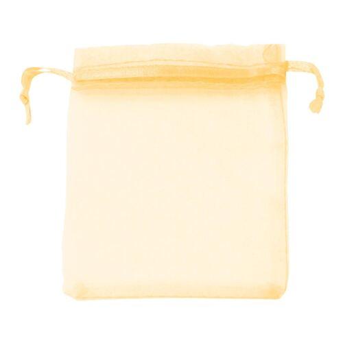 Classique Large Organza faveur sachets-mariage voile Sacs à cordon de serrage en mousseline de soie