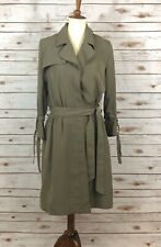 Banana Republic Warm White Double-Breasted Trench Dress Sz 00,12T,10T,4,8,10,10P