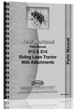 New Holland Lawn Amp Garden Parts Manual S12 Amp S14 Nh P S12 S14