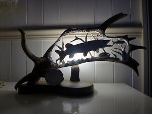 Fallow-Deer-Antler-Lamp-Pike-Fish-Design-Home-Decor-Art-Handmade-Unique-Gift