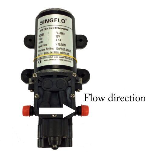 12V Water Pump 5Lpm Self-Priming Caravan 100Psi High Pressure EXPRESS /& WNTY