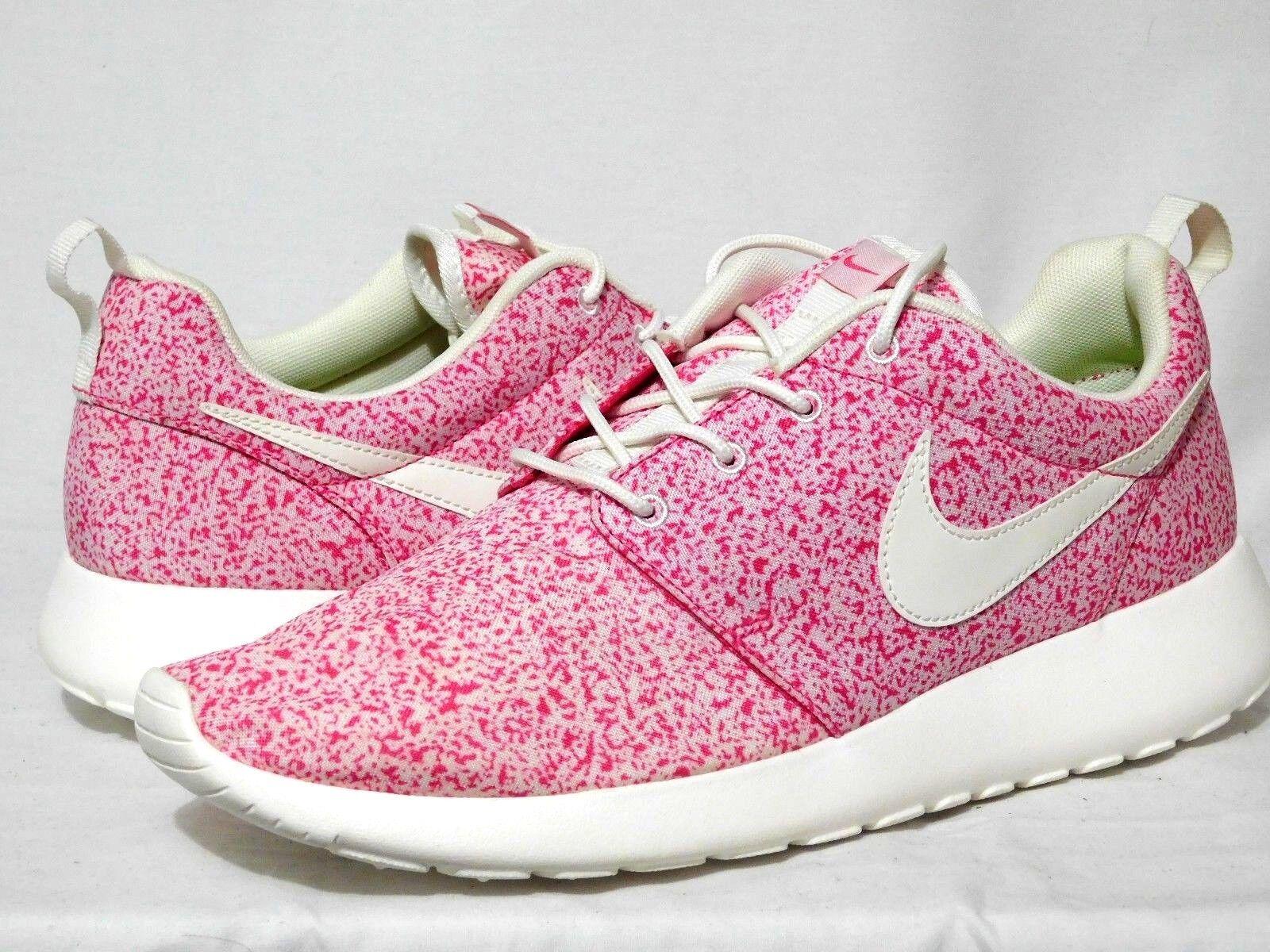 Nike Rosherun Rosherun Nike Vela Rosa Force 511882 101 para mujer hombres 9.5 WMMS 8cd524