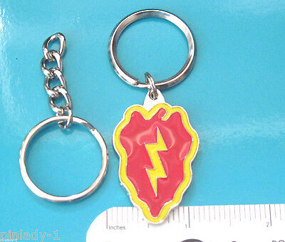 UNITED STATES ARMY 25TH INFANTRY DIVISION EMBROIDERED KEY RING