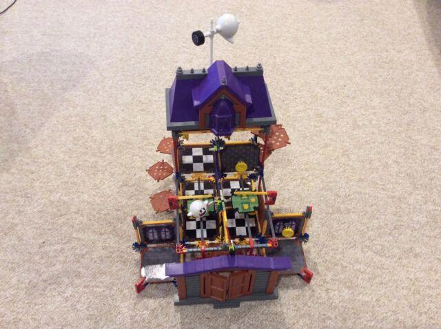 K'nex Ghost House Super Mario 3D Land Building Set Plus Mini-figures
