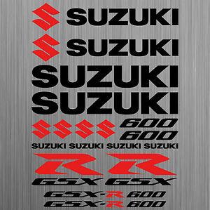 SUZUKI-GSX-R600-aufkleber-sticker-motorrad-motorcycle-18-Stucke-Pieces