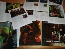 Children of Bodom Aleixi Laiho Rare Collection Clippings 27pages + 2sided Poster