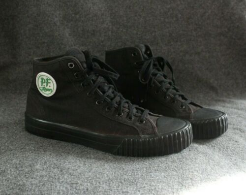 PF Flyers Unisex Sandlot Center Hi Sneakers Black