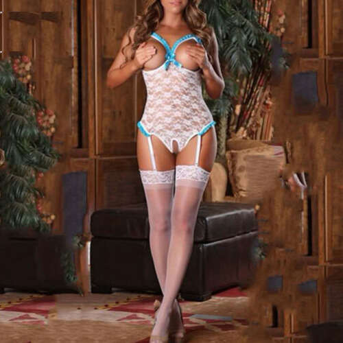 Lace Sexy-Lingerie Nightwear Underwear G-string Babydoll Sleepwear Hot Dress NEW