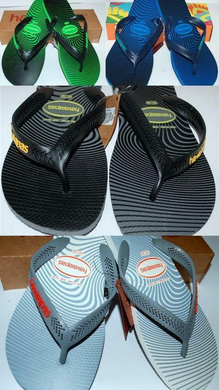 5f70a21a1 HAVAIANAS NEW Mens Unisex THONGS FLIP FLIP FLIP FLOPS AERO GRAPHIC Rubber 4  colours BNWT f04441