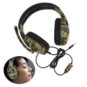 Gaming Headset 3.5mm Kopfhörer mit Mikrofon für Laptop PS4 Xbox One 360 Switch