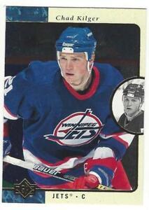CHAD-KILGER-1995-96-Upper-Deck-SP-163-NM-MT-NHL-Winnipeg-Jets