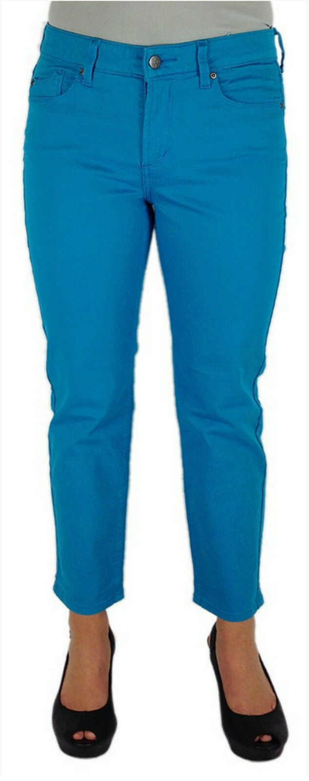 119 NEW NYDJ NOT YOUR DAUGHTERS JEANS ALISHA PANTS POOLSIDE SIZE 14 16,