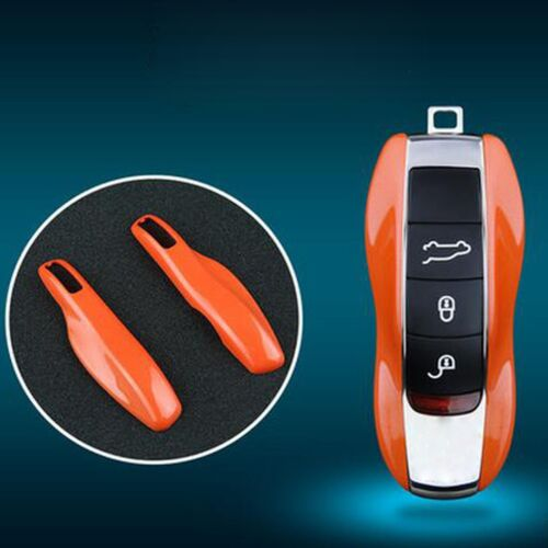 Porsche Cayenne Panamera Macan 911 Orange Remote Smart Key Shell Holder Cover