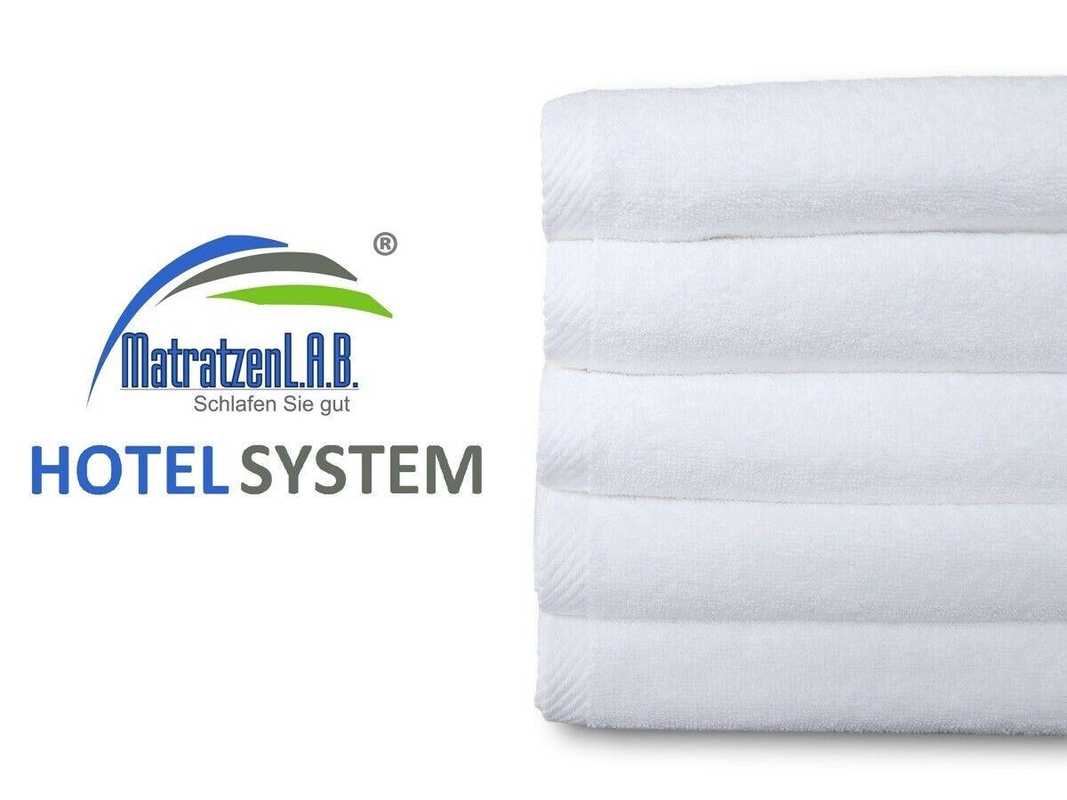 20x Hotel 70x140 Duschtücher Badetücher 100% Baumwolle 400g m² waschbar bis 90°C