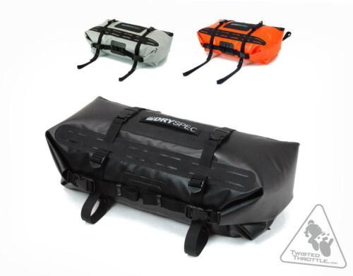 DrySpec D28 Dual-End Waterproof Motorcycle Dry BagOrange28L