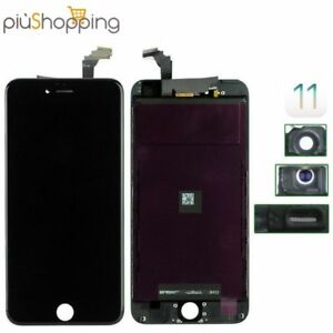 TOUCH-SCREEN-LCD-DISPLAY-RETINA-PER-APPLE-IPHONE-6-VETRO-SCHERMO-NERO-FRAME
