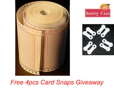 15 cartes perforées Brother kh260 tricot machine Knitting machine punch cards original