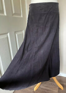 Grey-Pincord-Maxi-Shirt-Uk-12-Chocolate-Pin-Cord-Cherokee