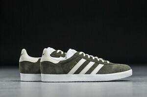 Adidas Originals Mens Boys Gazelle Trainers Shoes Green/White ...