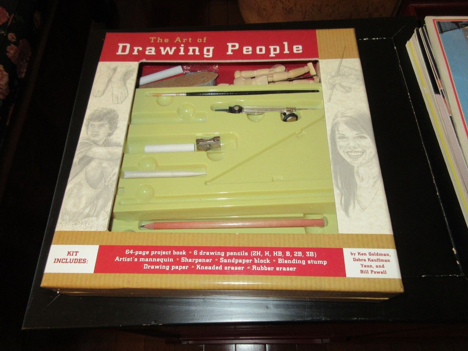 The Art of Drawing People Kit , Vintage