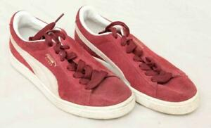 Ladies-Maroon-Puma-Suede-Trainers-Uk-Size-5-Lot-SF13
