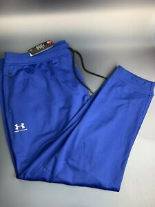 Under Armour Jogger Pants Mens Size 4XL Blue Loose Fit Tapered ColdGear NWT