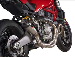 SILENCIEUX QD EXHAUST GUNSHOT DUCATI MONSTER 821 2017/18