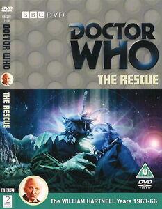 Doctor-Who-The-Rescue-Edicion-Especial-Impecable-Pristine-Estado-Hartnell-Dr