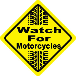 Watch for Motorcycles Stickers | eBay