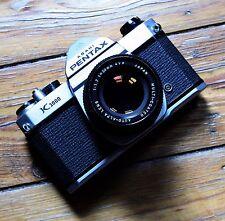 Beautiful Pentax K1000 with 50mm f1.7