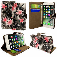4950d9f588d GUESS Flower Desire 4g PU Leather Book Case With Roses Grey iPhone 7 ...