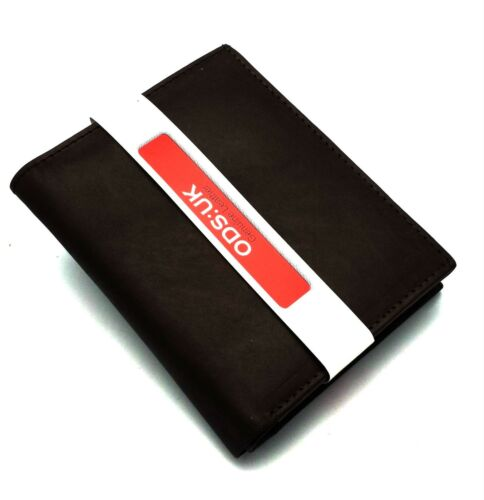 MENS GENUINE REAL SOFT LEATHER WALLET With LARGE Zip Coin Pocket Pouch Design