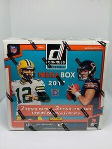 2017-Donruss-NFL-Football-Mega-Box-10-Packs-w-3-Hobby-Patrick-Mahomes-Rookie-RC
