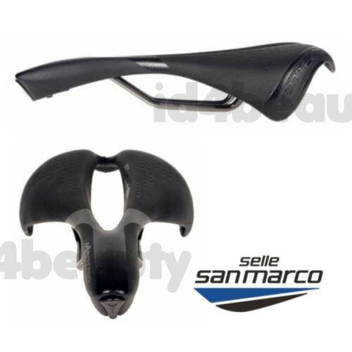 Selle San Marco Mantra Xsilite Rail Saddle Racing Road Bicycle Black New