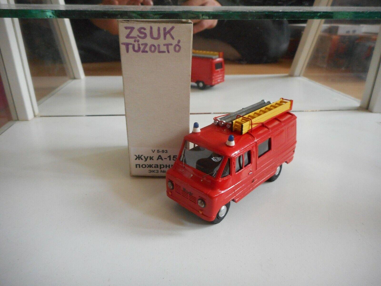 el estilo clásico VM Zuk Tuzolto Fire Brigade Brigade Brigade in rojo on 1 43 in Box  ahorra 50% -75% de descuento