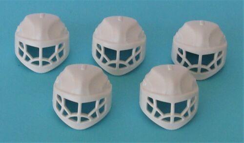Playmobil Sport  5 x Ice Hockey Goalie Helmets    Mint Condition