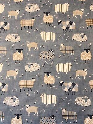 Iliv SMD Scandinavian Birds Capri Cotton Print Fabric