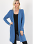 NEW-Plus-Size-Open-Front-Long-Duster-Cardigan-Sweater-w-Side-Pockets-XL-1X-2X-3X thumbnail 9